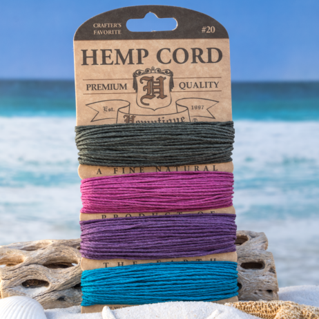 Shades of Party, 1mm Hemp Cord, 120 Feet