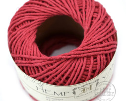 red hemp cotton yarn