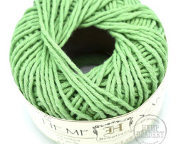 green hemp yarn