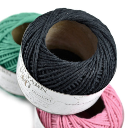 black hemp yarn