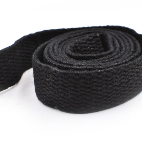 black hemp webbing