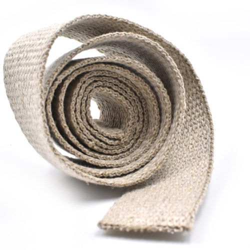 natural hemp webbing, 1 inch