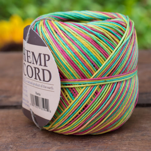 rasta hemp cord 1mm