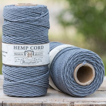gray hemp cord 2mm