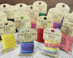 hemp cord mini cards
