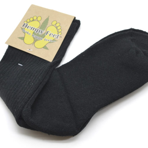 black hemp socks