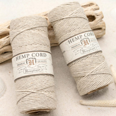 natural hemp cord 1mm
