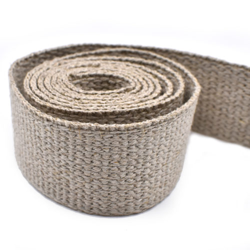 hemp webbing, belt webbing, trim