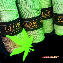 Glow In The Dark Hemp Cord Is Here!