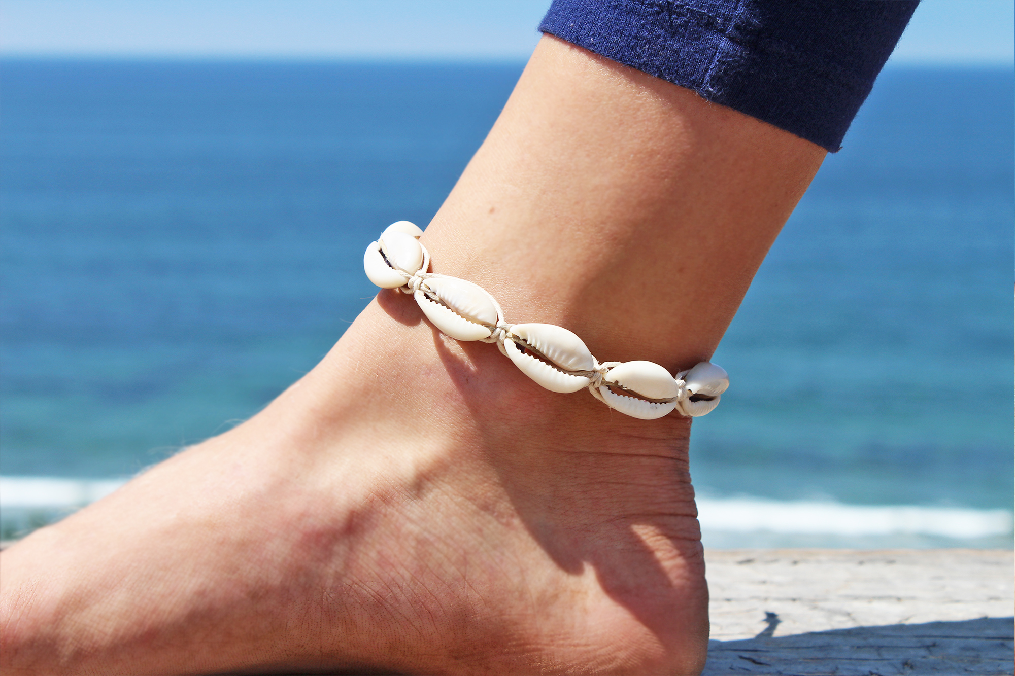 leather salt riot shop product anklet with live adjustable joy pink
