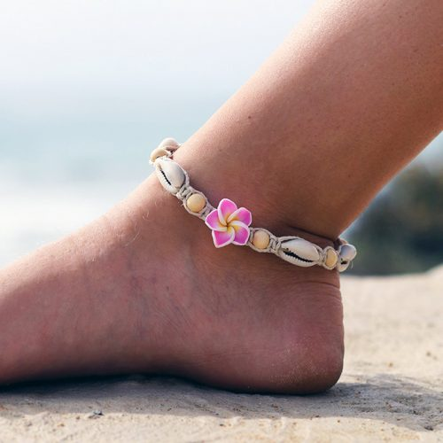 hemp flower anklet