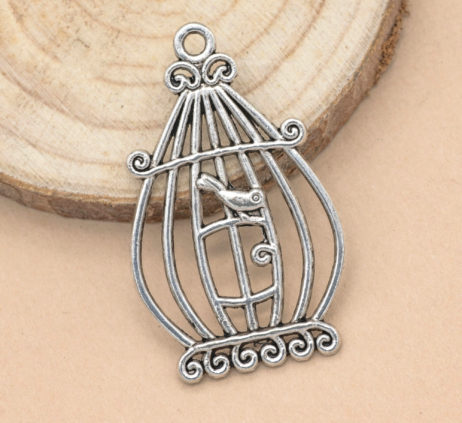 bird cage charms