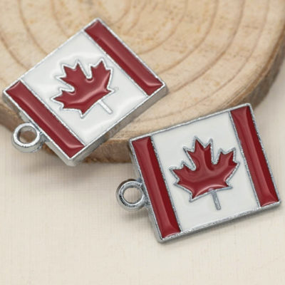 Canadian flag pendant