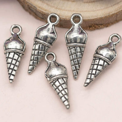 ice-cream cone charms