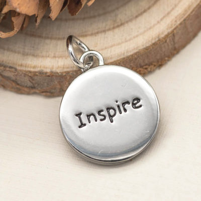 inspire word charm