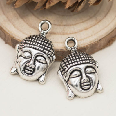 buddha head charms