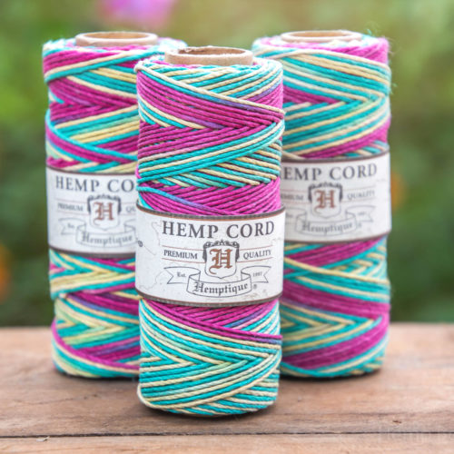 bingo hemp ord, 1mm craft cord
