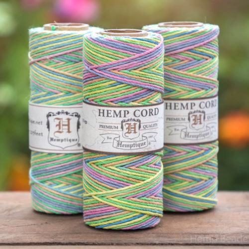 carousel, hemp craft cord 1mm
