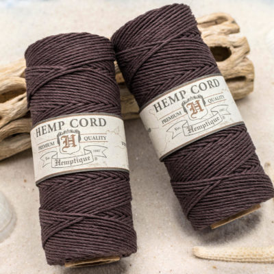 brown hemp twine, eco friendly craft cord