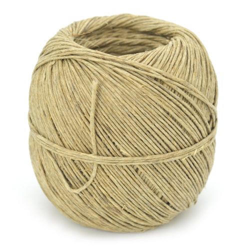 Hemp Twine 2mm, 48lb, 400 feet Ball, Hemp String, Macrame Twine, Packaging Twine -T90