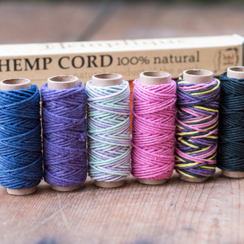 hemp cord mini spools