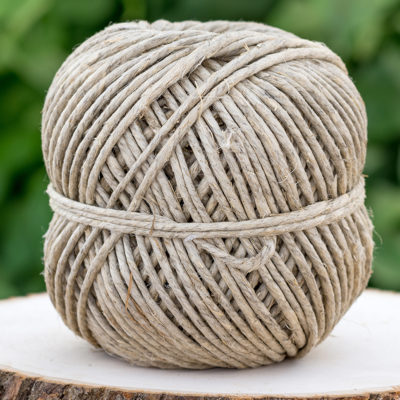Natural 3mm Hemp Twine, 193 feet, 170lb