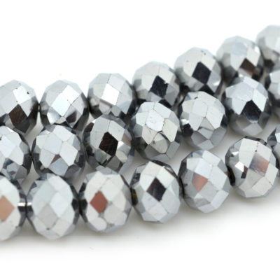 Crystal Beads, 35pcs, 9x8mm,  Glass Crystal Beads,  Rondelle  Beads - B264