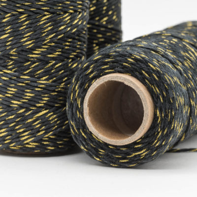 hemp bakers twine, black hemp twine
