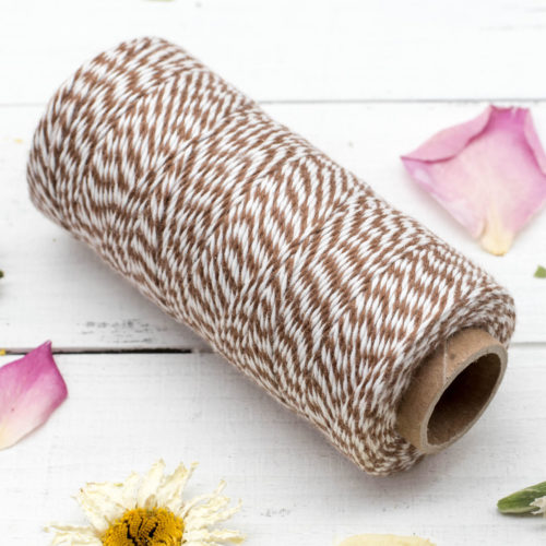 Brown  Cotton Bakers Twine,  136 Yards, 2ply, 410 feet, Bakers Twine,   String