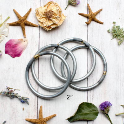 2  Inch Metal  Hoops, 1 Dozen Pack, Dreamcatcher  Rings, Craft Hoops,   Rings