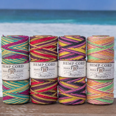 variegated premium hemptique hemp cord