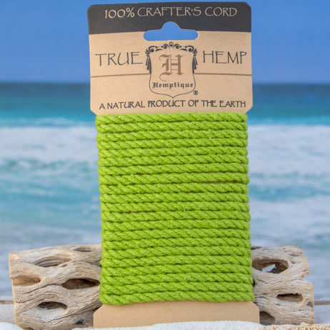 4mm green hemp rope