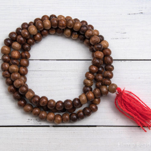 Wood Beads, 10mm Beads,  108  Beads,   Yoga  Beads, Prayer Beads
