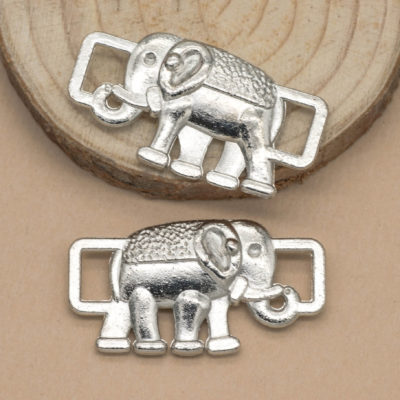 elephant connector charms