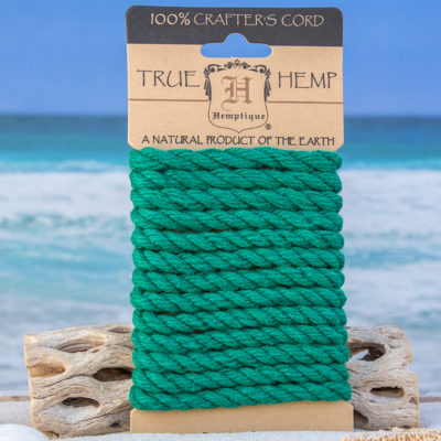hemp rope, green rope 6mm