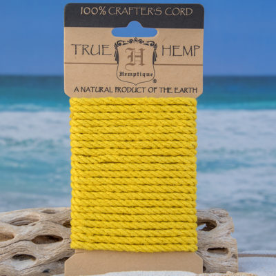 yellow craft rope