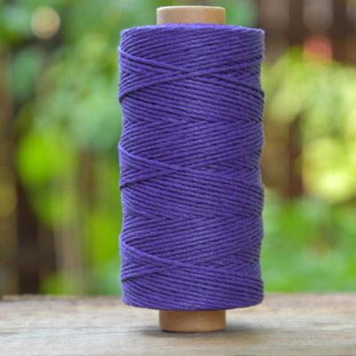 Hemp Twine, 1mm Purple Cord, 405 Feet,   Hemp Cord, Green Macrame Cord -T103