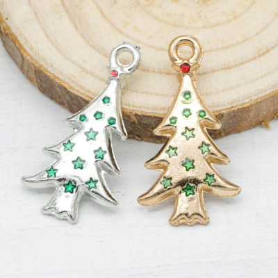 Christmas tree charms