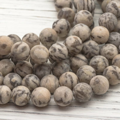 Feldspar  Beads 8mm,  Natural Gemstone, 15 Inch Strand, 46pcs, 1mm Hole, Frosted