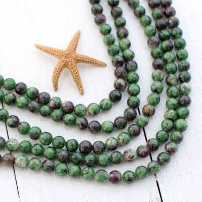 Green Agate  Gemstone Beads, 6mm, 15 Inch Strand, 60pcs,  Round Agate Beads -P998