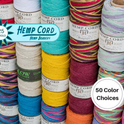 Macrame Cord, 1mm Hemp  Cord,  25 Spools, Jewelry Cord, Bead Cord,  Wholesale Hemp Cord, Choose The Colors
