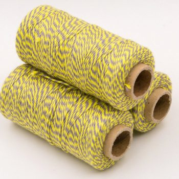 Yellow Bakers Twine, 410 Feet, 2ply, Party Twine,   Cotton Bakers Twine  - BT2
