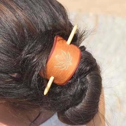 420 cannabis hair accessory