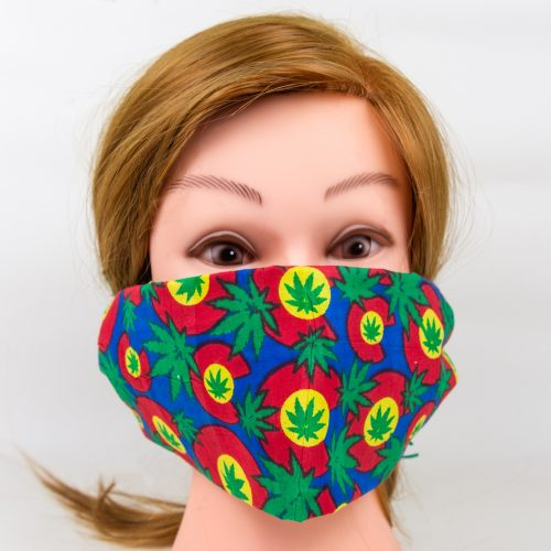 hemp face mask, cotton bandana