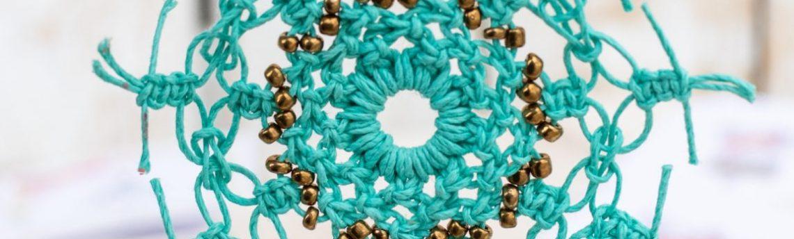 How To Make A Hemp Macrame Snowflake
