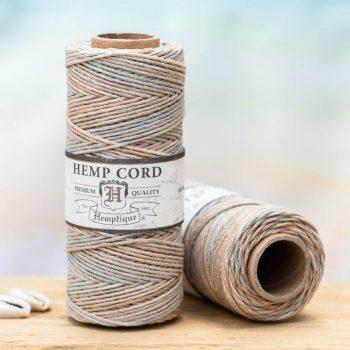 Sandalwood hemp cord 1mm