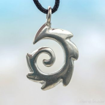 tribal spiral pendants