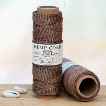 light brown hemp  cord,  1mm, 205 feet spool for  making macrame hemp jewelry, scrapbooking and crafts.