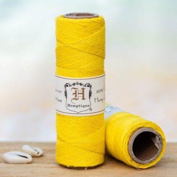 yellow hemp cord 0.5mm