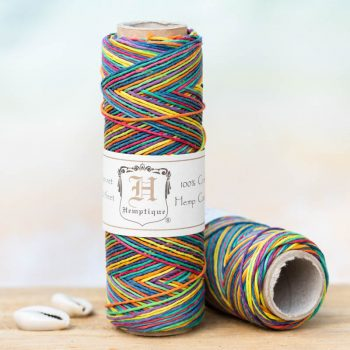 rainbow Hemp Twine